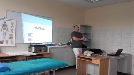 Warsztaty masażu z Karolem Wiśniewskim