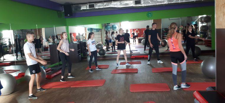 Zajęcia Fitness w klasach LO Dietetyka i Fitness