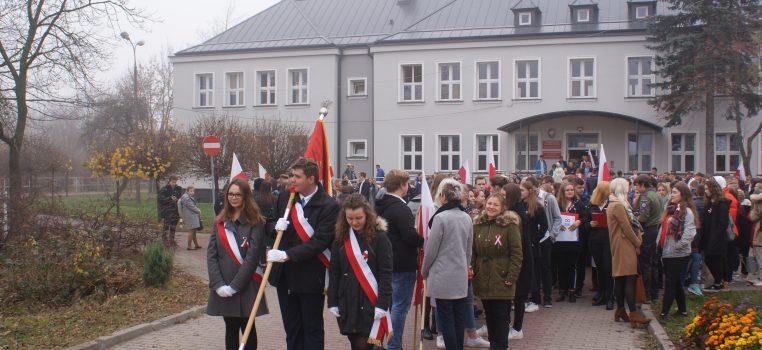 Obchody 100-lecia Odzyskania Niepodległości w ZSRCKU w Piasecznie